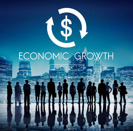 Financial Trade Economics Financial Graphic Concept Stock Photo