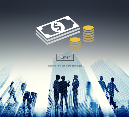 economy financial: Money Currency Economy Financial Banking Concept Stock Photo