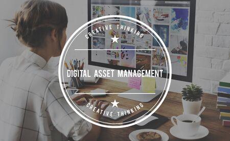 digital asset management: Digital Asset Management DAM Distribution Assessment Concept