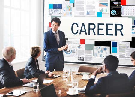 recruiting: Career Tools Recruiting Profession Concept