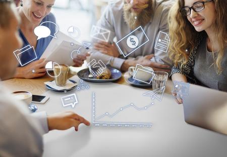 Corporate Management-Strategie Lösung Branding-Konzept Standard-Bild - 60972240