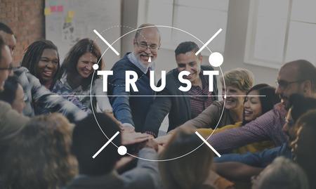 Trust Geloof Geloof Eerlijk Hope True Truth Concept Stockfoto