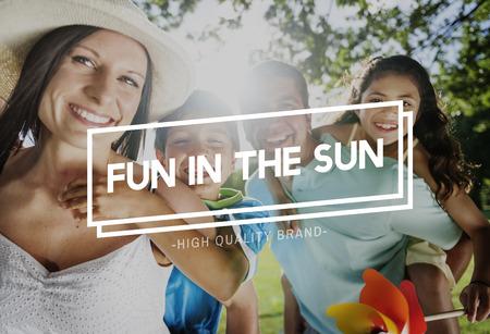 夏のサンシャイン太陽リラックス チル コンセプト