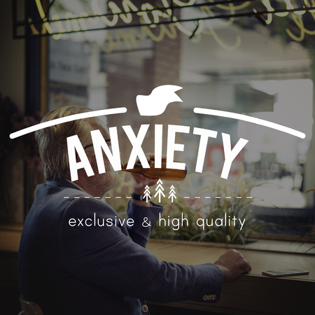 nervousness: Anxiety Psychology Tension Panic Concept