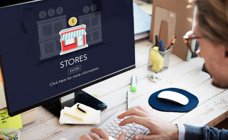 opportunity: Stores Shops Business Opportunity Investment Concept
