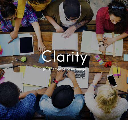 Clarté design clair Créativité Visible Simple Concept