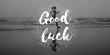 Good Luck Fate Destiny Fortune Prosperity Concept