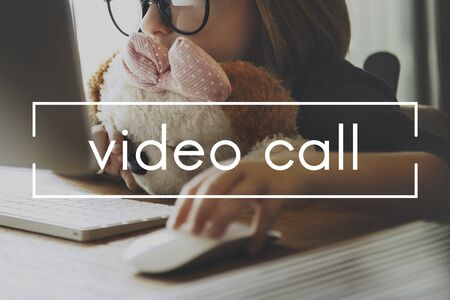streaming: Video Call Media Multimedia Streaming Content Concept