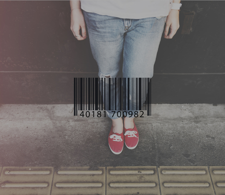 purchase icon: Bar Code Scanning Purchase Icon Concept