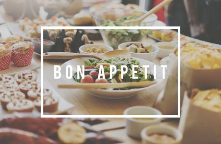 kulinarne: Posiłek jadalna Kulinarne Kuchnia Concept