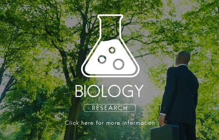 genetics: Scientific Biochemistry Genetics Engineering Concept Stock Photo