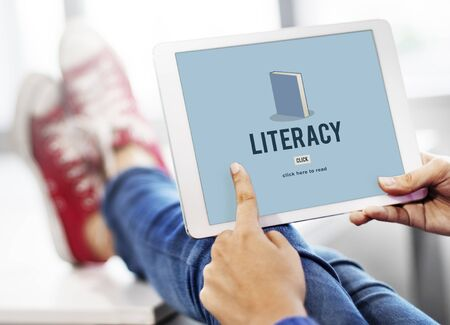 literacy: Literacy Book Education Academic Knowledge Study Concept