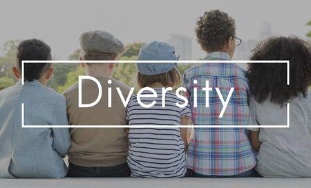 niños de diferentes razas: Diversidad Etnia Variación Race Concept Sociedad Comunidad