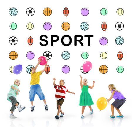 balon de basketball: Sports Letters Bolas concepto gráfico