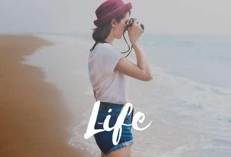 ciclo de vida: Nacimiento cuerpo vivo la vida del ciclo de vida Concepto de mente
