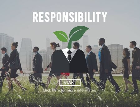 obligation: Responsibility Roles Task Obligation Duty Responsible Concept