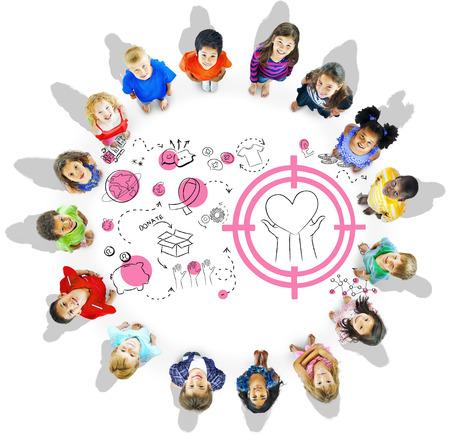 기부 재단 기부금 복지 자선 컨셉 스톡 콘텐츠