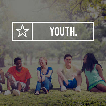 boyhood: Youth Young Teens Generation Adolescence Concept Stock Photo