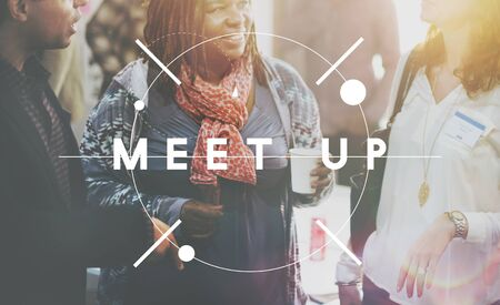 Meet Up Assembly Conference Cooperation Forum Concept