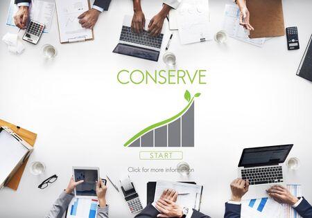 safeguards: Conserve Ecology Environmental Preservation Concept