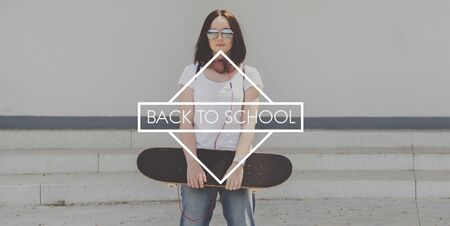 Back to School Education Knowledge Learning Concept Stock Photo