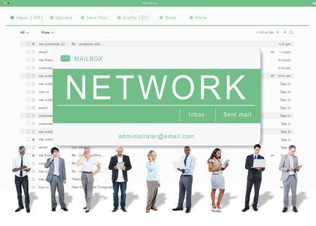 asian man laptop: E-mail Online Communication Message Technology Concept