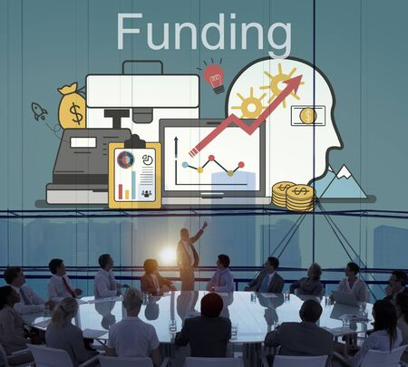 Funding Investment Financial Assets Conept