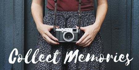 collect: Collect Moments Memories Experience Inspire Concept