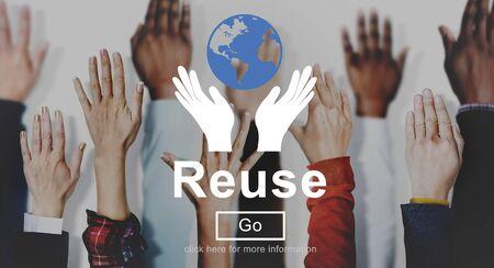 environmentally friendly: Reuse Reduce Environmentally Friendly Preservation Concept
