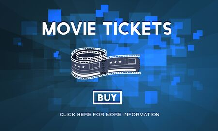 movie theater: Movie Tickets Nights Audience Cinema Theater Concept