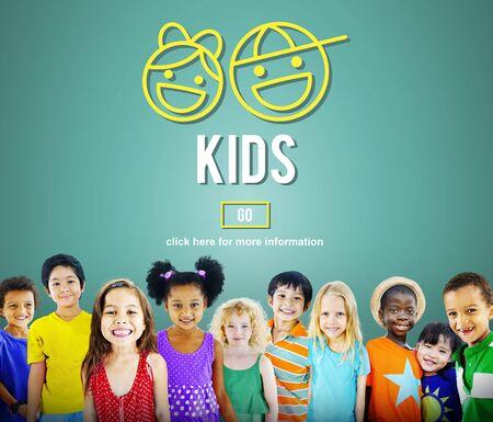 hijos: Para ni�os Ni�os generaci�n de cr�as Concepto Vida