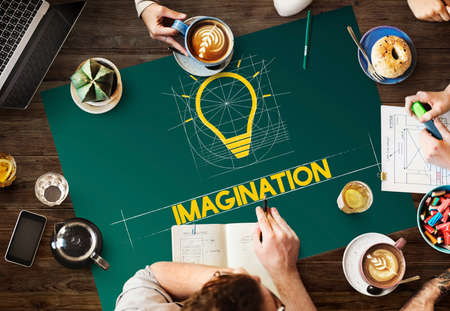 inventiveness: Ideas Think Innovation Creative Imagination Concept
