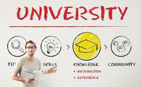 educational institution: Academic School College University Education Concept