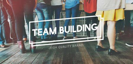 meetup: Team Building Business Employee Group Concept