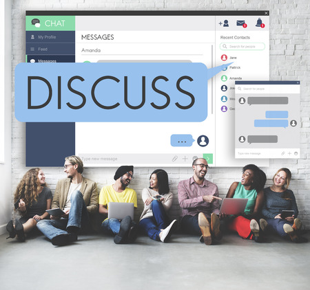 argumento: Discusi�n discutir Argumento concepto de la comunicaci�n