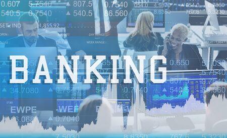 account executive: Banking Finance Organization Business Money Concept Stock Photo