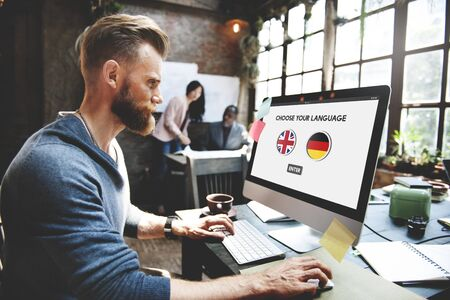 language dictionary: Language Dictionary English German Concept