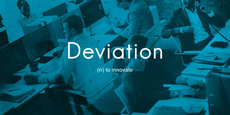 to innovate: Deviation Innovate Changes Development Improvement Concept