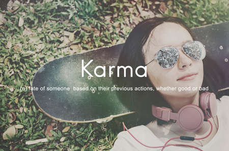 karma: Karma Predestination Positive Chance Concept