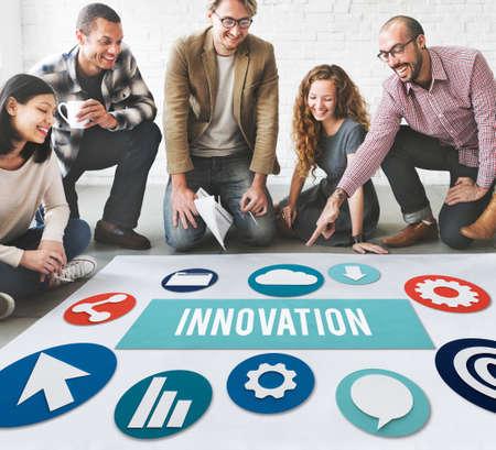 futurism: Innovation Invention Futurism Development Concept