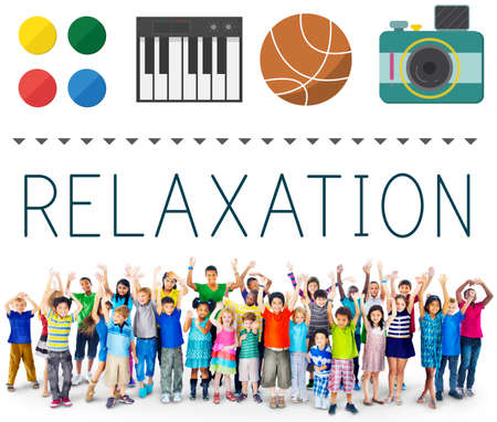 Relaxation Life Calm Chill Vacation Peace Rest Concept Stock Photo