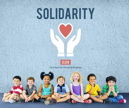 oneness: Solidarity TEam Spirit Unity Icon Concept