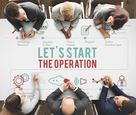 operative: Operation Active Start Useful Practical Start Concept