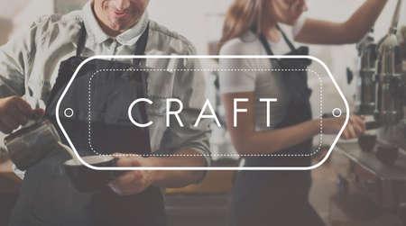 skilled: Craft Handmade Skilled Talent Art Craftmanship Concept