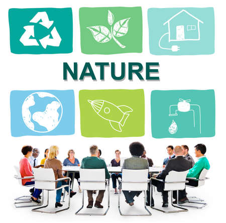 conserving: Environmental Conservation Life Preservation Protection Growth Concept