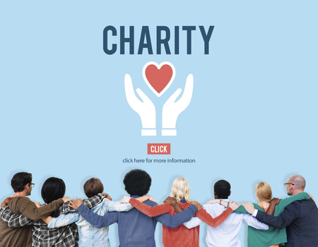 huddle: Charity Donation Help Support Charitable Assistance Concept