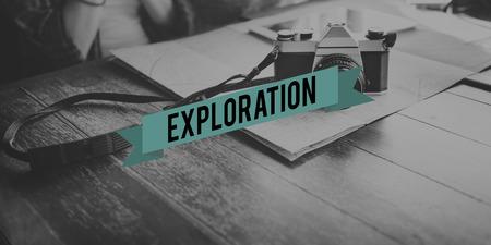 excursion: Travel Destination Excursion Itinerary Concept