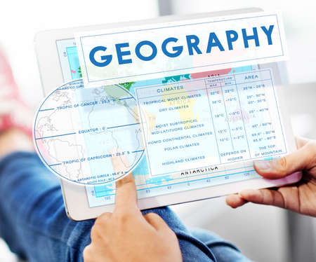 geography: Geography Map World Climate Details Concept