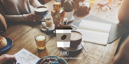 cheerfulness: Coffee Shop Cup Hot Beverage Concept