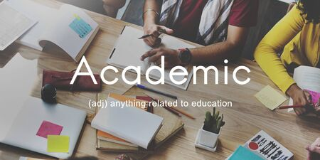 higher intelligence: Academic College Degree Education Learning Concept